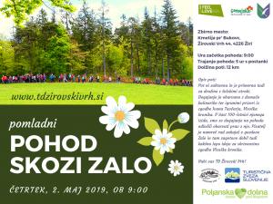 POHOD SKOZI ZALO,2-5-2019