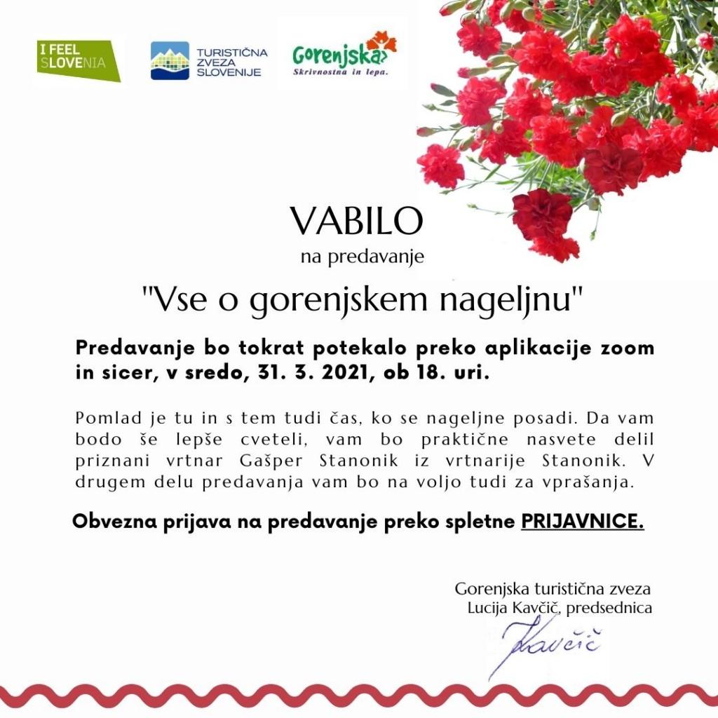 VABILO NAGELJ